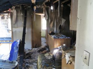 fire damage remodel living spaces