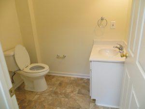 fire remodel bathroom damage